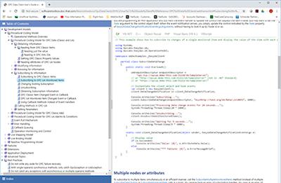 OPC Client Development Online Documentation