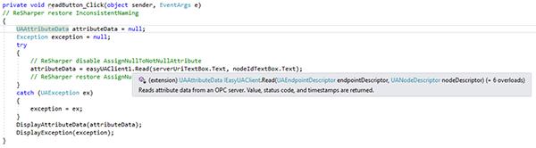 OPC Developer Productivity Tools Example