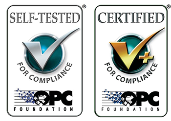 OPC Data Client OPC Certification Logos